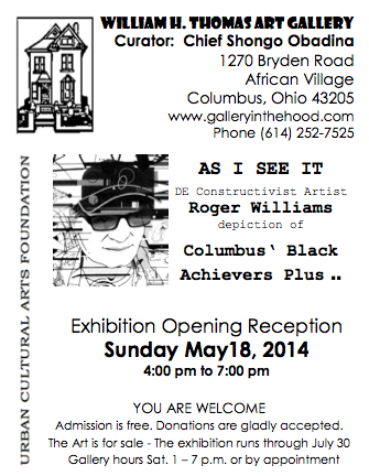 May 2014 Show invitation
