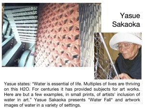 Yasue Sakaoka for WATER SHOW