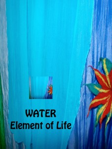 water postcard invitation front